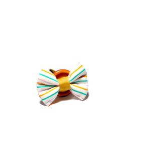 Stripe Button Ring