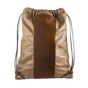 Pony Strip Bucket Backpack