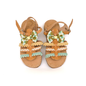 Pineapple Baby Sandals