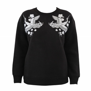 BLACK CRANE SWEATSHIRT
