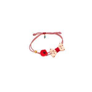 Red Poppy March Bracelet