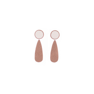 """Divine"" elegant fashion stud earrings"
