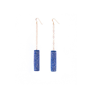 """Stars"" elegant fashion statement earrings"