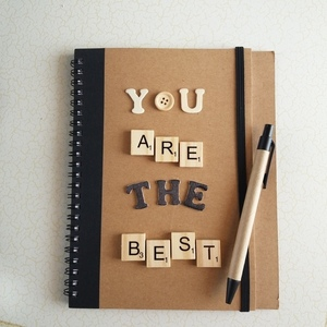 "Notebook ""YOU ARE THE BEST"""