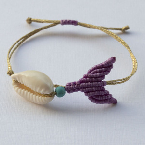 Mermaid Bracelet - μακραμέ