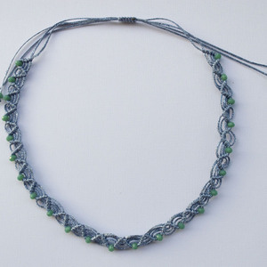 Endless Blue Necklace