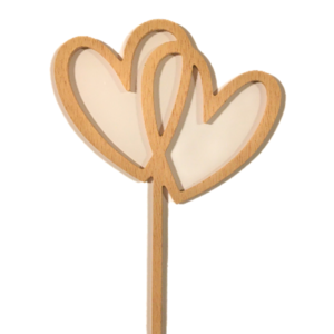 cake topper hearts