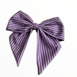 Bow Clip - Stripped - hair clips