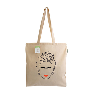 Tote Bag Mexicana Organic Cotton - ώμου, tote, all day, ύφασμα, πάνινες τσάντες