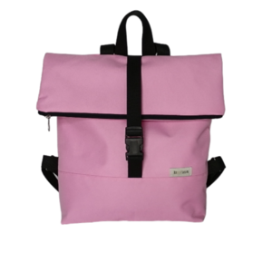 Noemi backpack in baby pink (τσάντα πλάτης) - πλάτης, all day, ύφασμα
